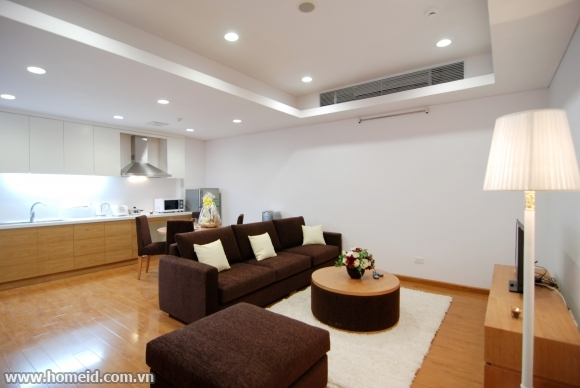 Beautiful serviced apartment for rent in Tran Binh srt, Nam Tu Liem dtr, Ha Noi city