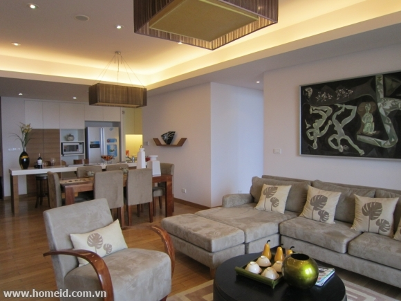 Cheap price serviced apartment for rent on Tran Binh str, Nam Tu Liem dtr, Ha Noi city