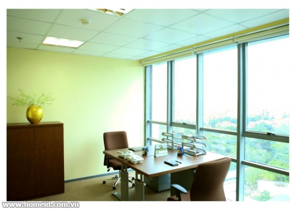 Serviced office for rent in Sannam building