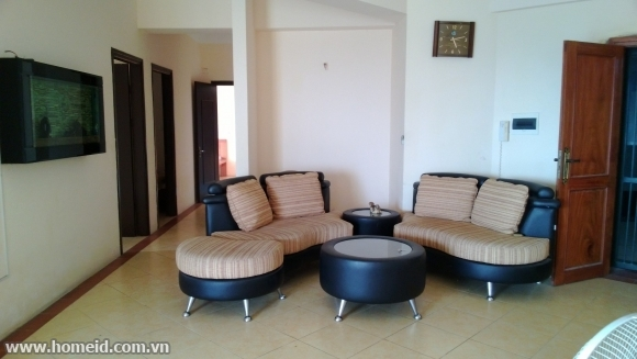 Furnished apartment for rent on Nguyen Duc Canh street