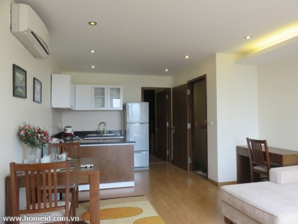 Beautifully decorated and noble serviced apartment on Pham Huy Thong str
