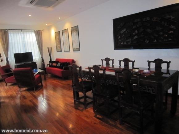 Ancient and high-class house for rent  in Au Co, Tay Ho district