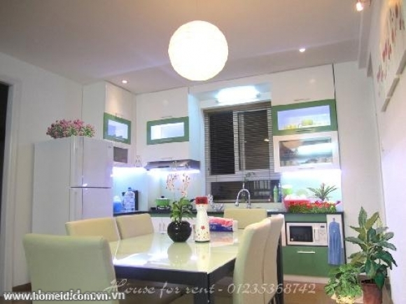 NICE AND MODERN SERVICED APARTMENT FOR RENT IN ME TRI THUONG