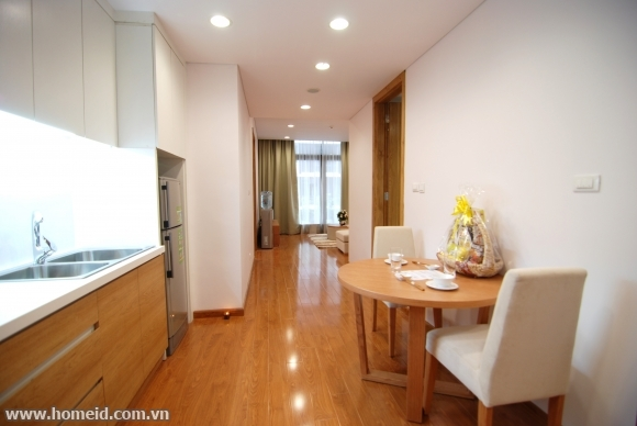 Serviced apartment for rent on Tran Binh Street, Nam Tu  Liem District, Hanoi City