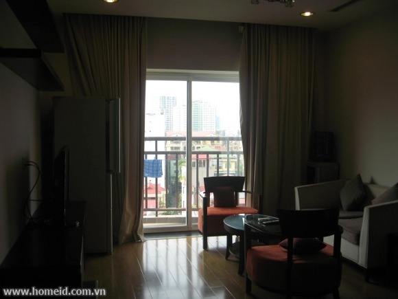 Spectacular and modern two-bedroom apartment  in Hoa Binh Green