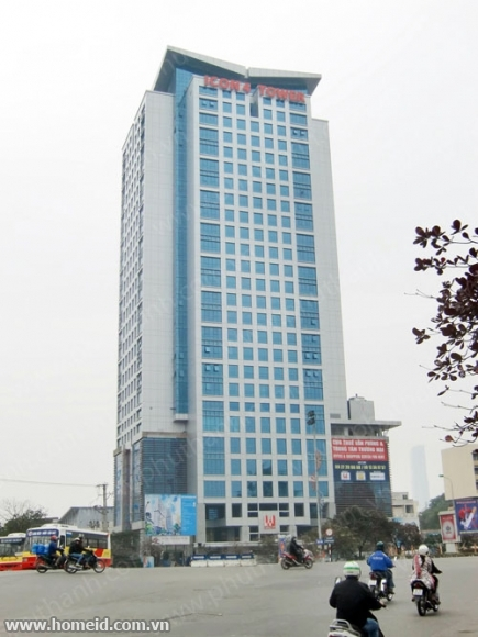 Serviced office for rent in ICOn 4 Tower De La Thanh