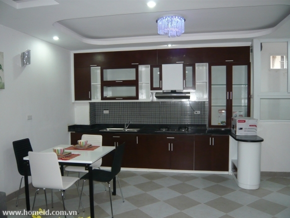Noble and cheap price serviced apartment for rent on Nguyen Huy Tu street, Hoan Kiem district