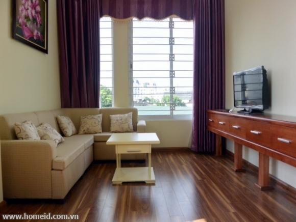 Price cheap serviced apartment in Phan Huy Chu str, Hoan Kiem dtr