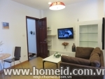 Beautiful 1 bedroom serviced apartment for rent on Mai Hac De, Hai Ba Trung district, Ha Noi