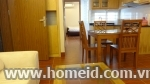 Serviced apartment for rent on Au Co, Tay Ho District, Ha Noi