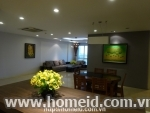 Spacious and luxurious apartment for rent in Ciputra, Tay Ho