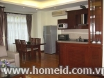 Splendid 2 bedroom serviced apartment for rent on Le Thanh Tong