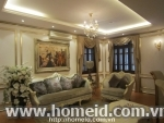 THE MOST LUXURIOUS VILLA FOR RENT IN CAU GIAY DISTRICT
