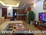 Cozy serviced 2 bedrooms for rent in Doan Ke Thien street, Cau Giay district, Ha Noi city