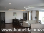 Three bedroom Premier serviced apartment for rent in Dang Thai Mai street, Tay Ho