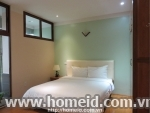 Noble and luxurious 1 bedroom serviced apartment for rent on Nguyen Phong Sac street