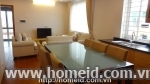 Spacious and cheap price serviced apartment for rent on Au Co street, Ha Noi