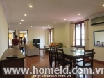 Stunning serviced apartment in Tong Duy Tan str., Hoa Kiem dist.