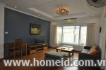 Spacious and beautiful 2 bedroom services apartment for rent on To Ngoc Van, Tay Ho district