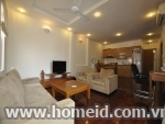 Modern and high - class 2 bedroom serviced apartment for rent on Xuan Dieu, Tay Ho district