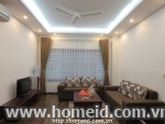 Beautifully decorated and noble serviced apartment for rent on Hoang Quoc Viet street