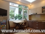 Luxurious and cheap price serviced apartment for rent  on Xuan Dieu street, tay Ho district, Ha Noi