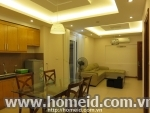 2-bedroom modern serviced apartment for rent in Tran Phu str., Ba Dinh dist.