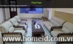 Cheap small serviced apartment for rent on Tran Duy Hung Street