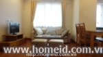 Luxurious  and cheap price serviced apartment for rent on Au Co street, Ha Noi