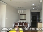 Noble and luxurious 3 bedroom apartment in Hoa Binh Green building