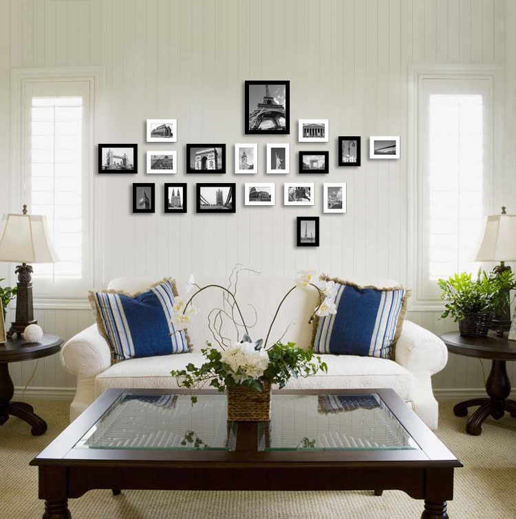 Feng Shui Living Room With Ideal Focal Point
